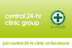 join central clinic on facebook